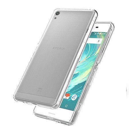 Etui na Sony Xperia Z2 silikonowe crystal case - bezbarwne.