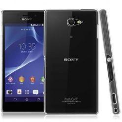 Etui na Sony Xperia M2 silikonowe crystal case - bezbarwne.