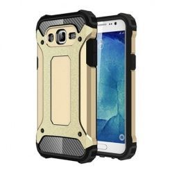 Samsung Galaxy J3 2016r etui pancerne - złoty.