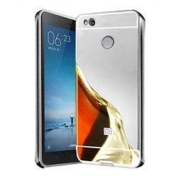 Mirror bumper case na Xiaomi Redmi 4X - srebrny.