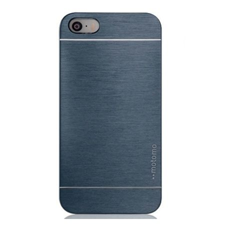 iPhone 5 5s etui Motomo aluminiowe - grafitowy.