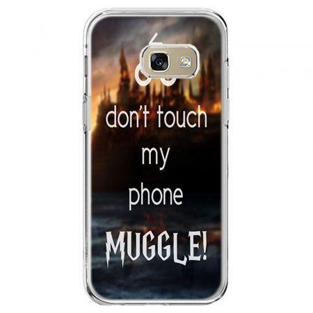 Etui na telefon Galaxy A5 2017 - Don`t touch ..Muggle harry Potter