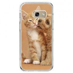 Etui na telefon Galaxy A5 2017 - jak pies i kot