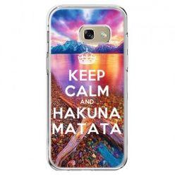 Etui na telefon Galaxy A5 2017 - Keep Calm and Hakuna Matata