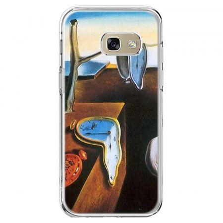Etui na telefon Galaxy A5 2017 - zegary S.Dali
