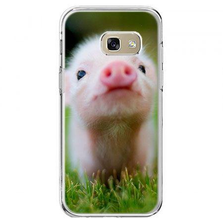 Etui na telefon Galaxy A5 2017 - świnka