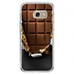 Etui na telefon Galaxy A5 2017 - czekolada
