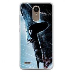 Etui na telefon LG K10 2017 - hełm Spartan