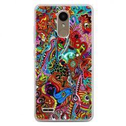 Etui na telefon LG K10 2017 - kolorowy chaos