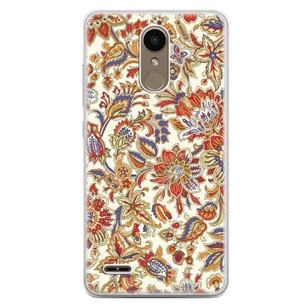 Etui na telefon LG K10 2017 - kwiaty