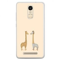 Etui na telefon Xiaomi Redmi Note 3 - żyrafy