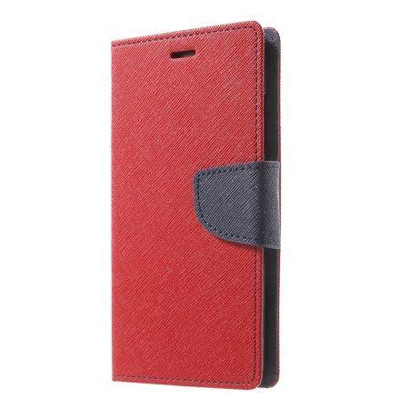 Etui na Huawei P9  Fancy Wallet - czerwony. PROMOCJA!!!