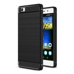 Etui na Huawei P8 Lite - bumper Neo CARBON - Czarny.