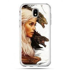Etui na telefon Galaxy J5 2017 - Gra o Tron Daenerys Targaryen