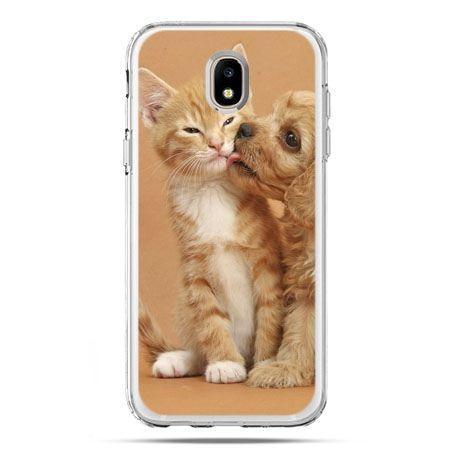 Etui na telefon Galaxy J5 2017 - jak pies i kot