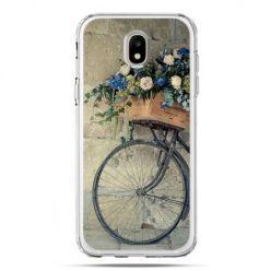 Etui na telefon Galaxy J5 2017 - rower z kwiatami