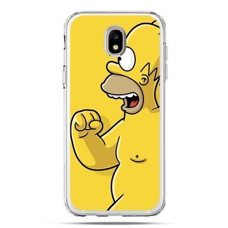 Etui na telefon Galaxy J5 2017 - Homer Simpson