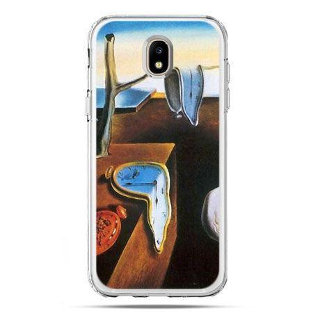 Etui na telefon Galaxy J5 2017 - zegary S.Dali