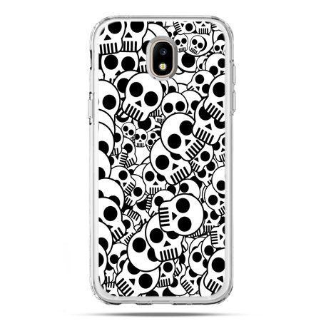 Etui na telefon Galaxy J5 2017 - czaszki