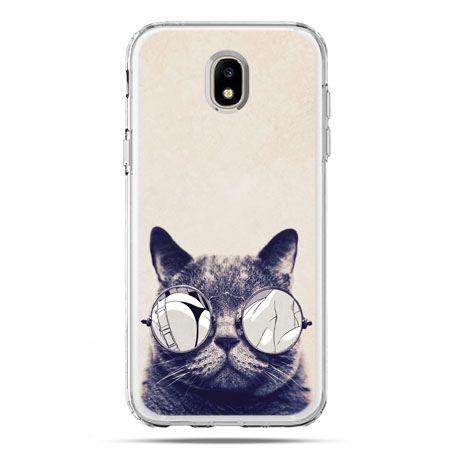 Etui na telefon Galaxy J5 2017 - kot w okularach