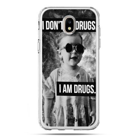 Etui na telefon Galaxy J5 2017 - I don`t do drugs I am drugs