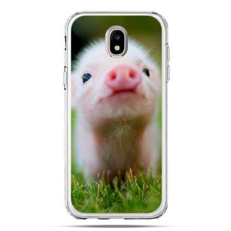 Etui na telefon Galaxy J5 2017 - świnka