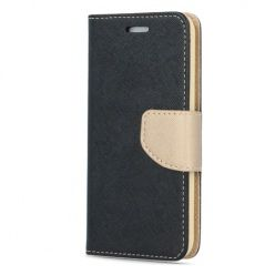 Etui na Galaxy S8 Plus Fancy Wallet - czarno-złoty.