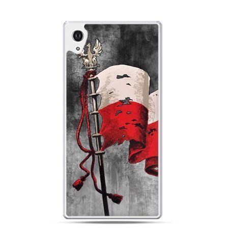 Etui na telefon Xperia Z1 patriotyczne - flaga Polski - PROMOCJA !