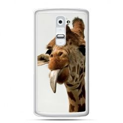 Etui na telefon LG G2 żyrafa z językiem - PROMOCJA !