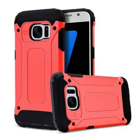 Pancerne etui na Galaxy S7 - czerwony.