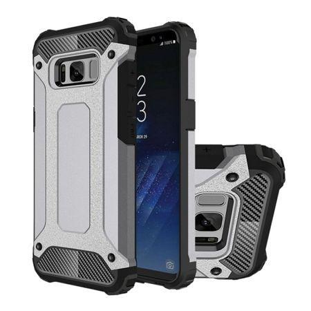 Pancerne etui na Galaxy S8 - Srebrny.