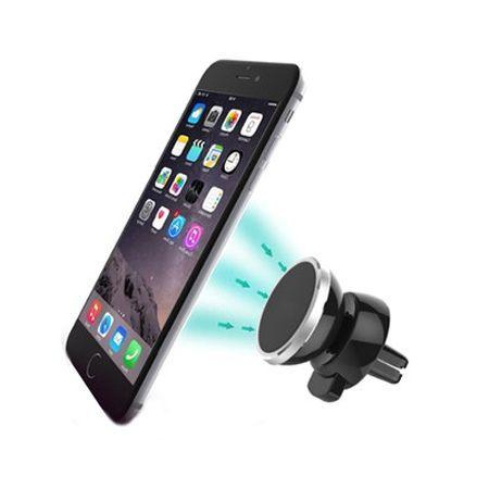 Uniwersalny samochodowy uchwyt na telefon - na Kratkę magnetyczny.