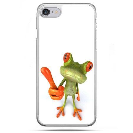 Etui na telefon iPhone 8 - śmieszna żaba