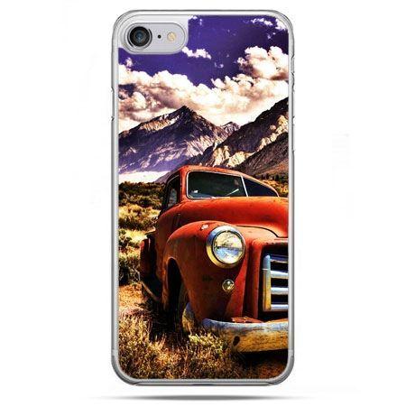 Etui na telefon iPhone 8 - retro pick-up