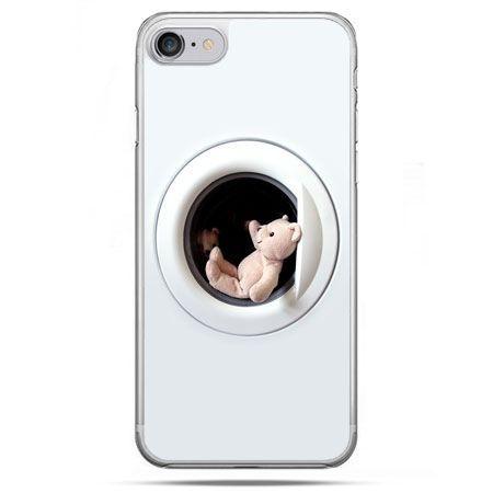 Etui na telefon iPhone 8 - miś w pralce