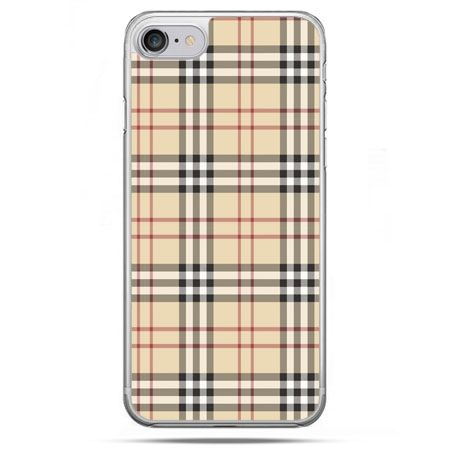 Etui na telefon iPhone 8 - kratka Burberry