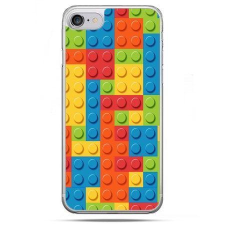 Etui na telefon iPhone 8 - kolorowe klocki