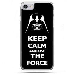 Etui na telefon iPhone 8 - Keep calm and use the force