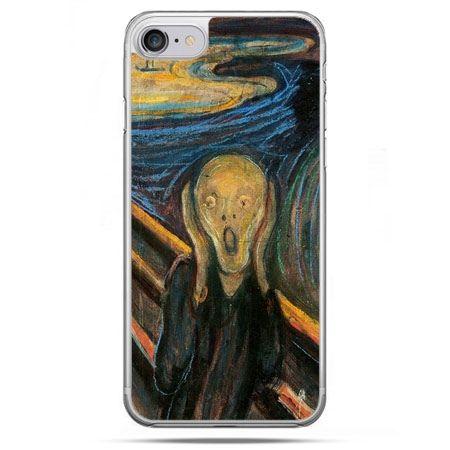 Etui na telefon iPhone 8 - Krzyk Munka