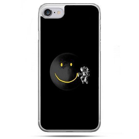 Etui na telefon iPhone 8 - uśmiechnięta planeta