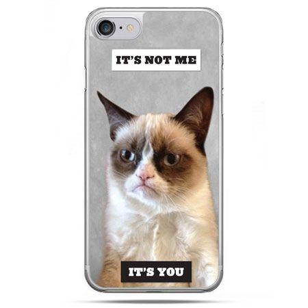 Etui na telefon iPhone 8 - grumpy kot zrzęda