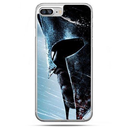 Etui na telefon iPhone 8 Plus - hełm Spartan