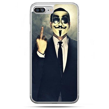 Etui na telefon iPhone 8 Plus - Anonimus Fuck You