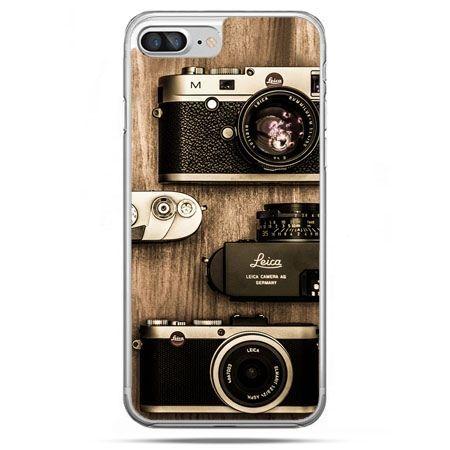 Etui na telefon iPhone 8 Plus - aparaty retro