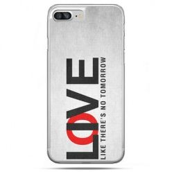 Etui na telefon iPhone 8 Plus - LOVE LIVE