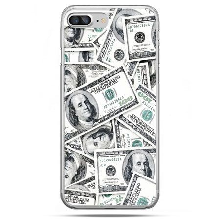 Etui na telefon iPhone 8 Plus - dolary banknoty