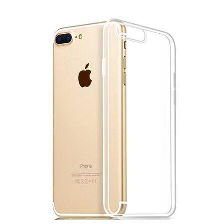 Etui na iPhone 8 Plus silikonowe crystal clear - bezbarwne.