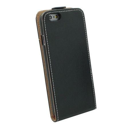 Etui na telefon iPhone 8 - kabura z klapką - Czarny.