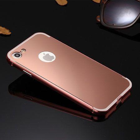 Mirror bumper case na iPhone 8 - Rose Gold.