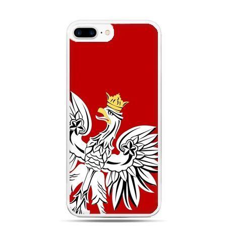 Etui na telefon iPhone 7 Plus - Orzeł Biały patriotyczne - Promocja !!!